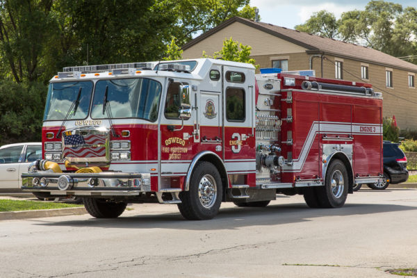 Oswego fire engine