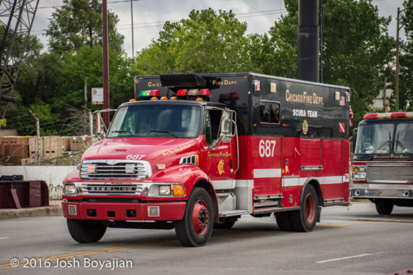 Chicago FD Dive Unit 687