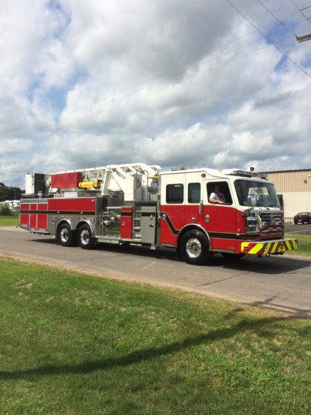 Lemont FPD gets new fire truck