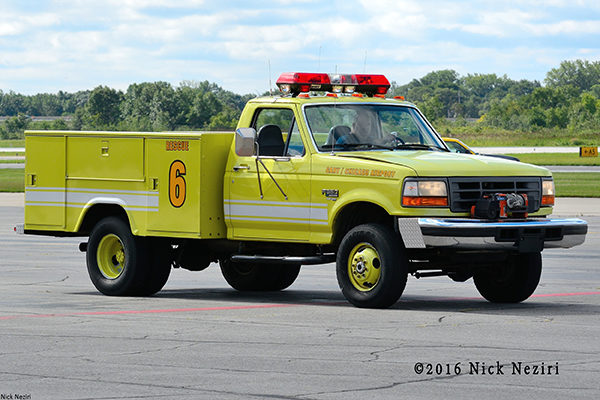 Gary Airport FD Rescue 6