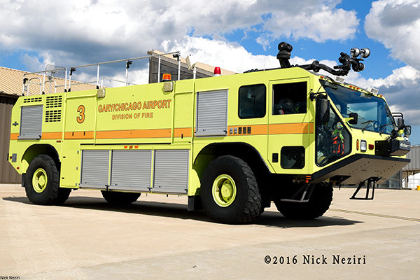Gary Airport Rescue 3 Oshkosh Striker 1500