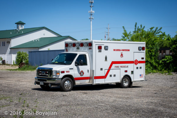 Fox River & Countryside Fire/Rescue District ambulance