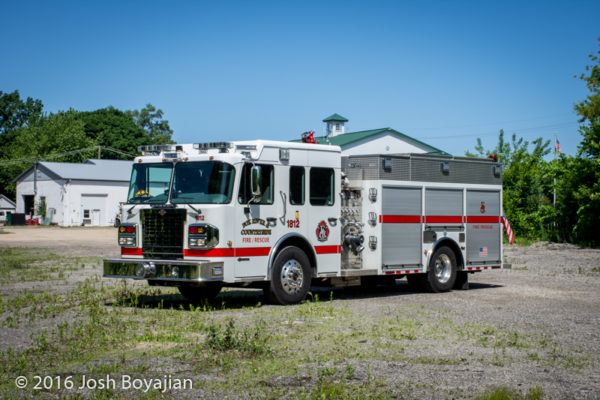 Fox River & Countryside Fire/Rescue District fire engine