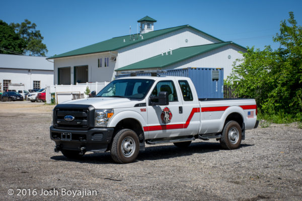 Fox River & Countryside Fire/Rescue District brush truck