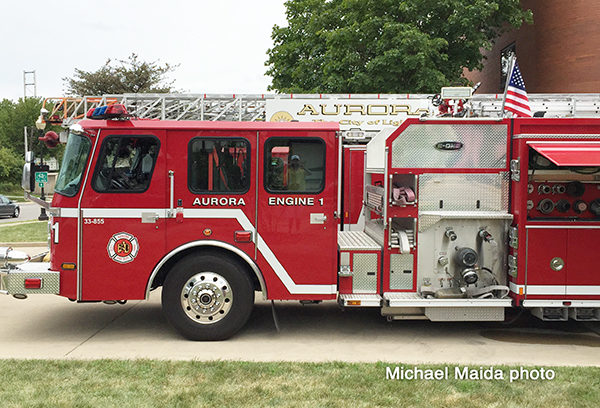 Aurora FD fire engine