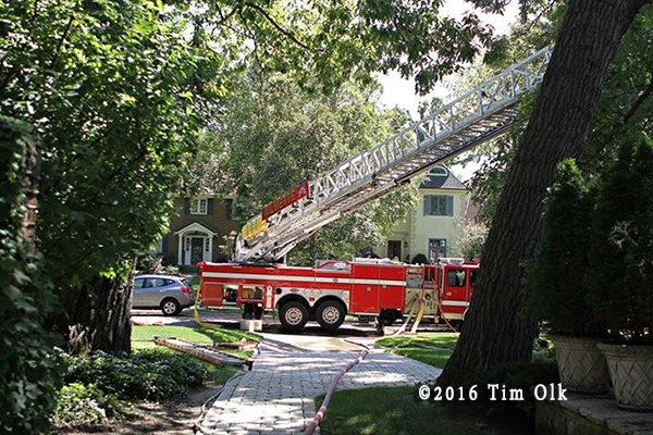 Wilmette Tower Ladder 26