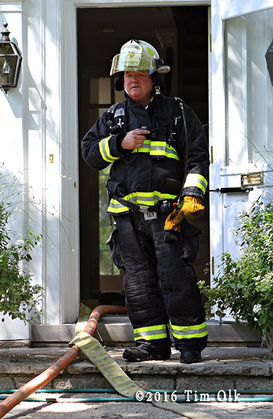 Wilmette Fire Chief MacGreal