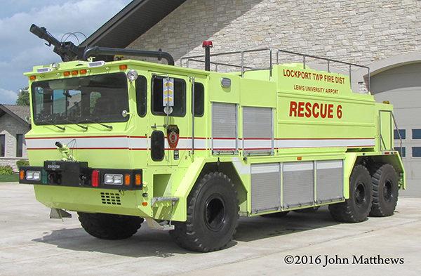 1993 Oshkosh TA3000 ARFF