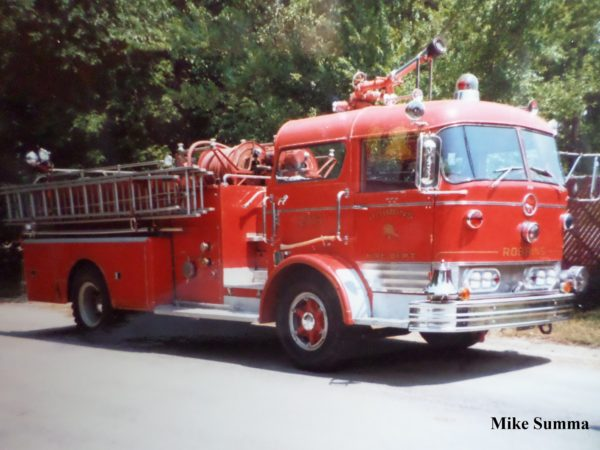 1965 Mack C95 1000/750 fire engine
