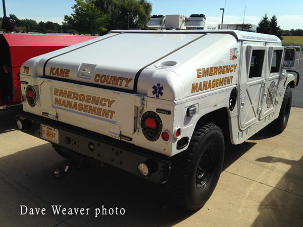 Emergency Management Humvee
