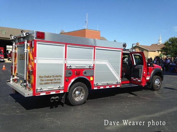 Batavia FD fire truck