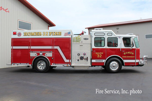 Homer Township FPD Engine 32