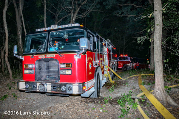 Long Grove FD Tanker 55 KME