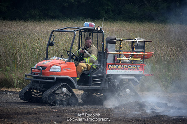 Newport Township FPS tracked ATV for brush fires