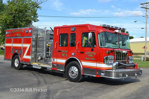 Spartan Metro Star Toyne fire engine