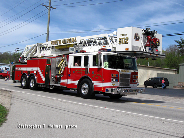 North Aurora FD Truck 502