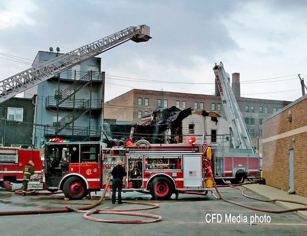 scene of a fatal extra alarm fire in Chicago