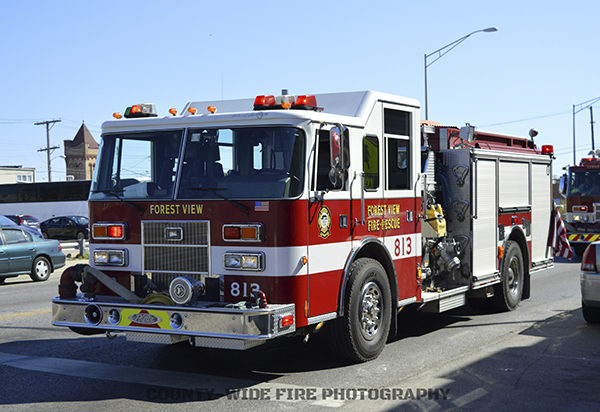Forest View fire engine