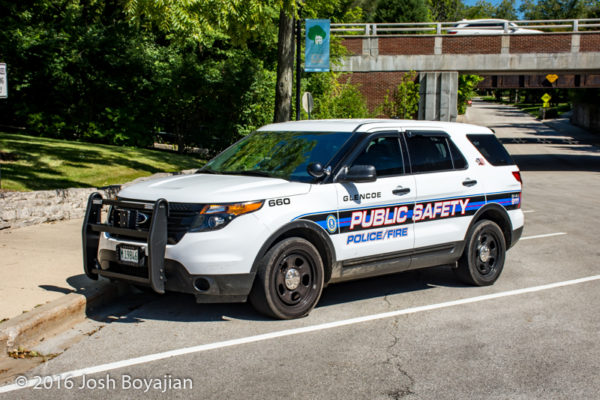 Glencoe Public Safety Ford Explorer