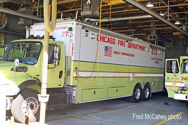 Chicago FD Comm Van 2-7-3