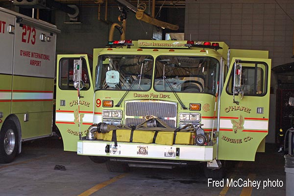 Chicago FD O'Hare Airport Engine 9