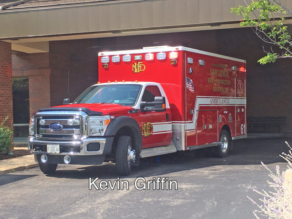 New Lenox FPD Ambulance 61