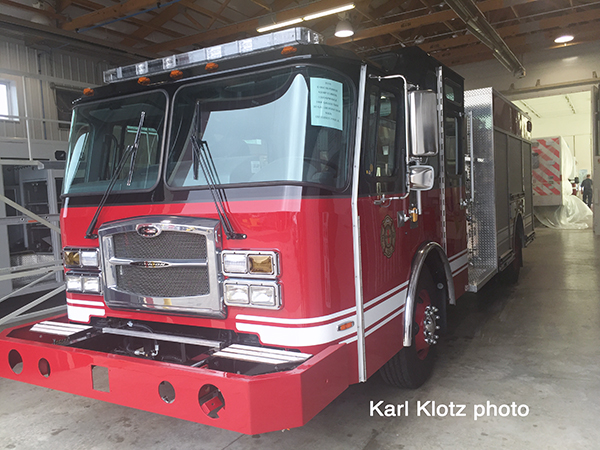 New fire engine for the University Park FD