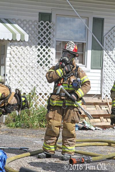 firefighter in full PPE