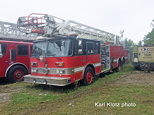 Former Lincolnwood FD fire truck