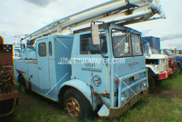 1967 Mack MB former CFD Snorkel for sale