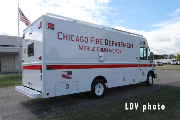 New command van for Chicago FD