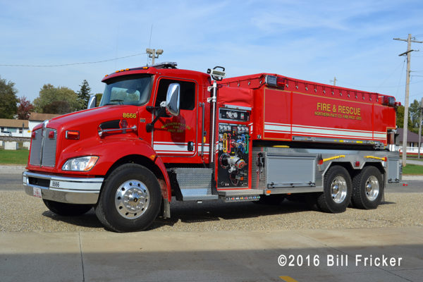 Kenworth - Fouts Brothers fire truck