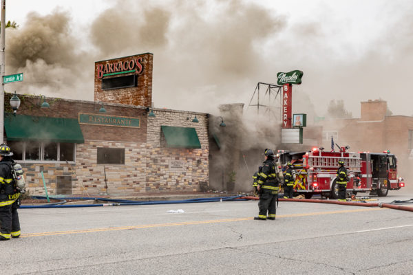restaurant fire in Evergreen Park IL