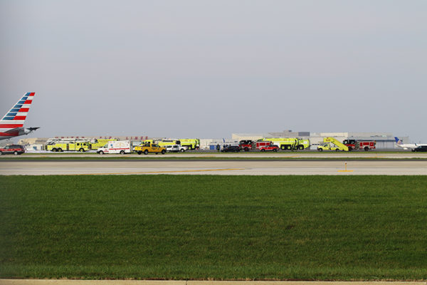 Chicago Fire Department at O'Hare Airport