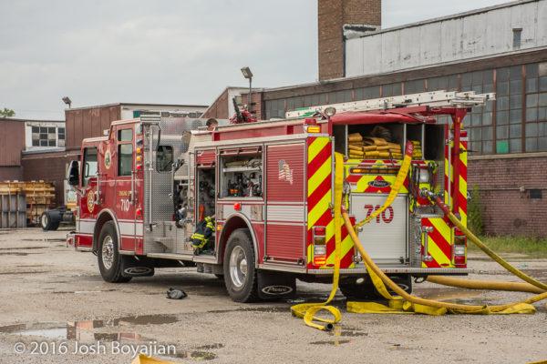 Bedford Park FD Engine 710