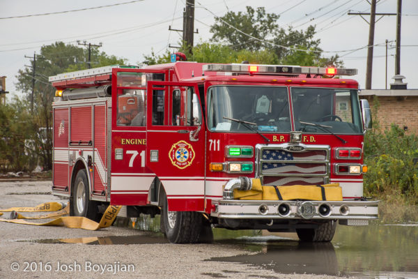 Bedford Park FD Engine 711