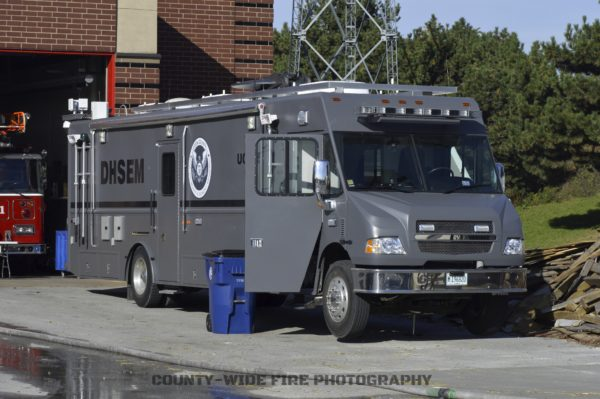 emergency squad truck