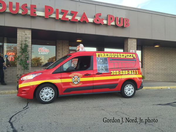 Firehouse Pizza delivery can