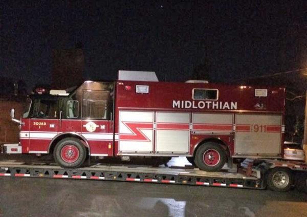 Midlothian FD Squad 2707