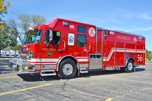Park Forest FD Squad 56