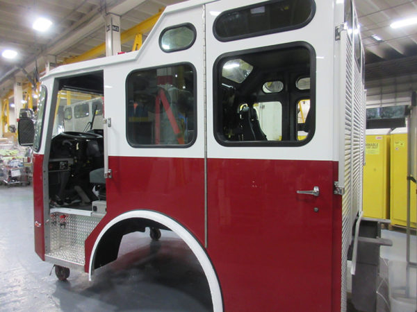 fire truck being built for Gurnee