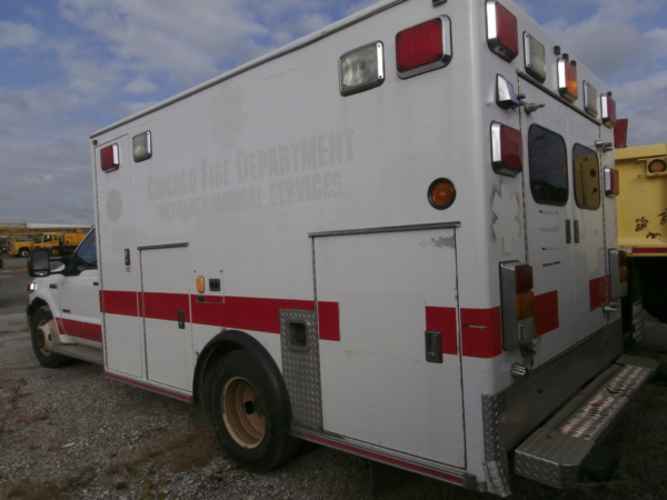 CFD surplus ambulance for sale