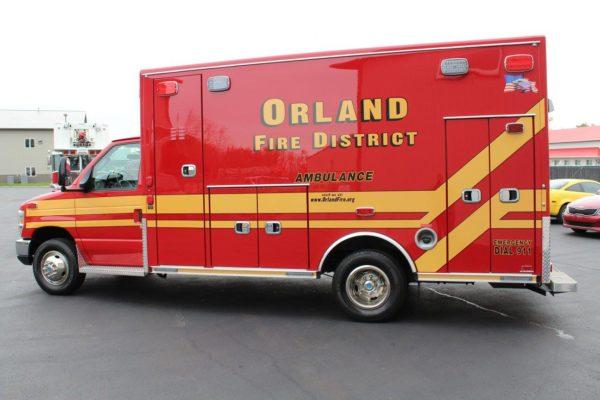 Orland FPD ambulance