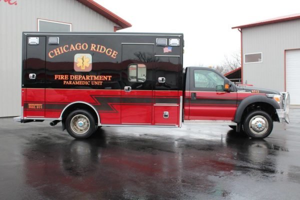 Chicago Ridge FD ambulance