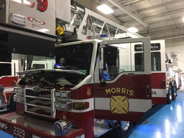new fire truck for the Morris FPD