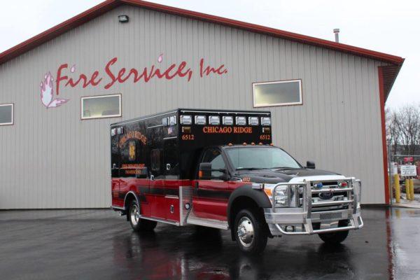 Chicago Ridge FD ambulance