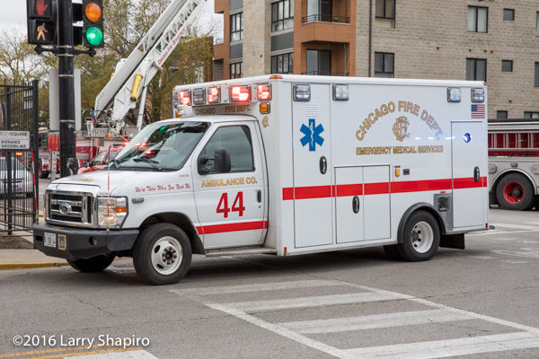 Chicago FD Ambulance 44