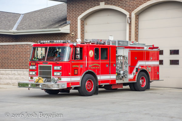 Bloomingdale FD Engine 23