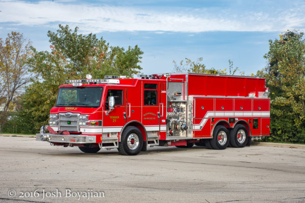 Pierce Impel pumper/tanker