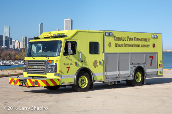 Chicago FD Squad 7 Rosenbauer Commander